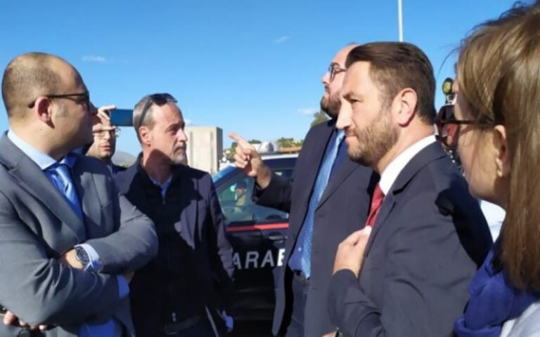 Visita in Calabria del viceministro delle Infrastrutture e dei Trasporti