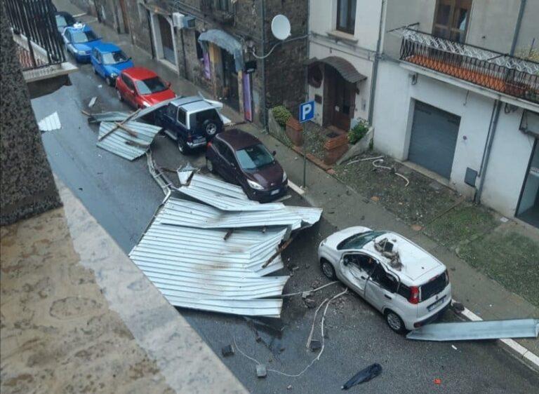 Maltempo da paura a Rogliano (CS), tragedia sfiorata