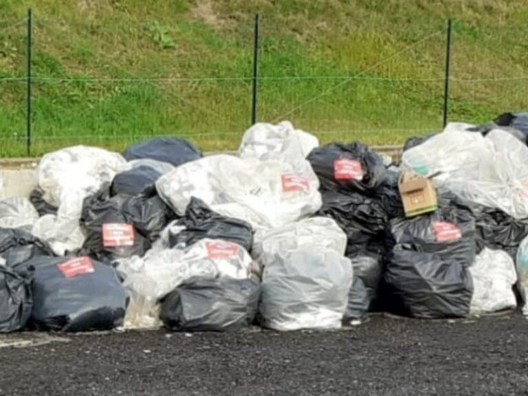 """Nuova foto della cittadella regionale, dappertutto """"rifiuti non conformi"""""""