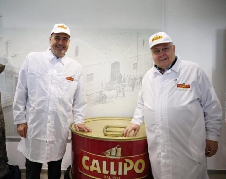 """Zingaretti a Vibo Valentia: """"Callipo è la svolta per la Calabria"""""""