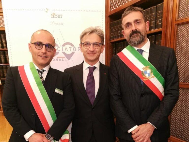 La Calabria ha due ambasciatori nazionali. Premiati i sindaci di Orsomarso e Tropea