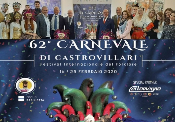 Carnevale di Castrovillari al via, presentato il manifesto dell'edizione 2020