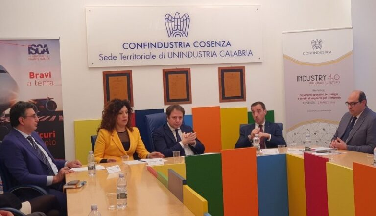 """In Confindustria Cosenza al via """"formazione finalizzata al lavoro"""""""