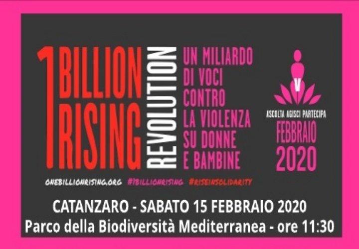 """A Catanzaro """"One Billion Rising"""", evento contro la violenza su donne e bambine"""