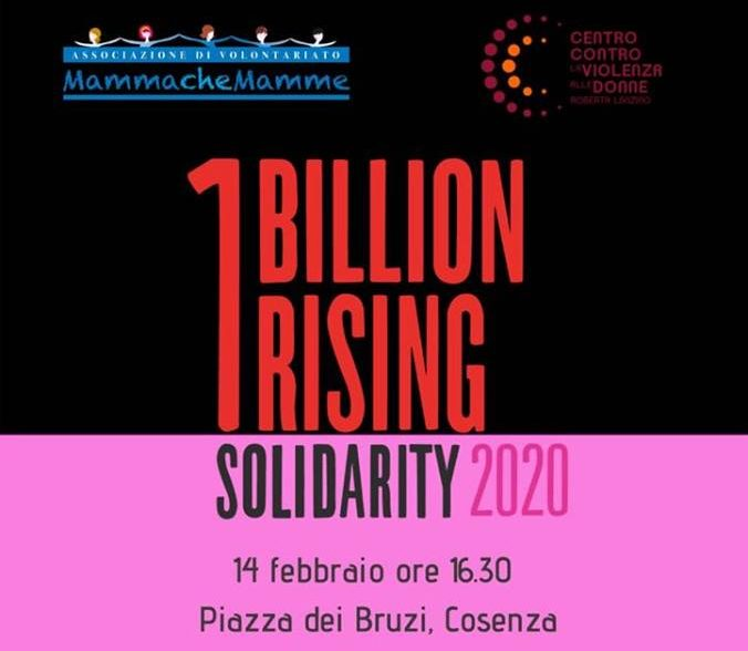 One Billion Rising 2020. Anche quest'anno il flash mob a Cosenza