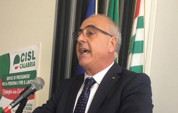 Tonino Russo Segretario generale Cisl Calabria