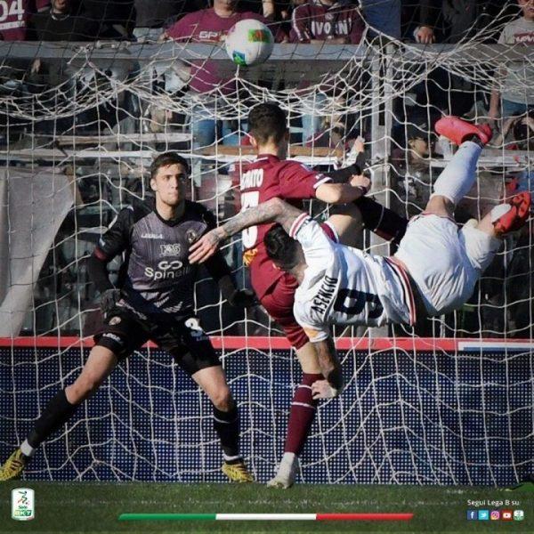 Calcio, la Lega B assegna ad Asencio il premio miglior gol della 24^ giornata