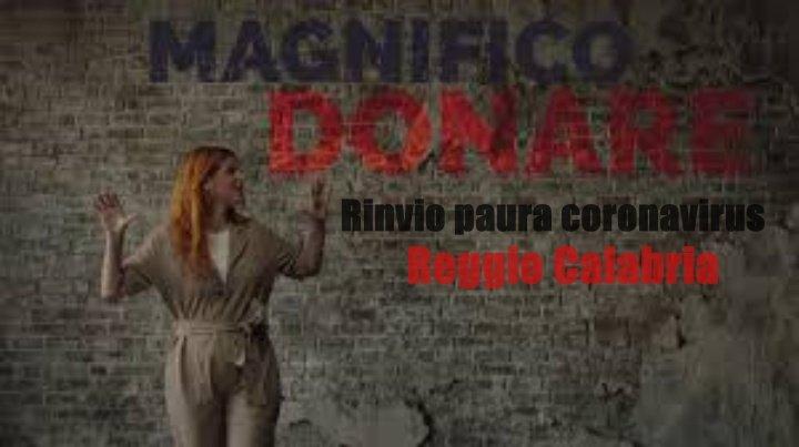 """Paura a Reggio Calabria, si rinvia anche l'incontro di """"Magnifico Donare"""""""