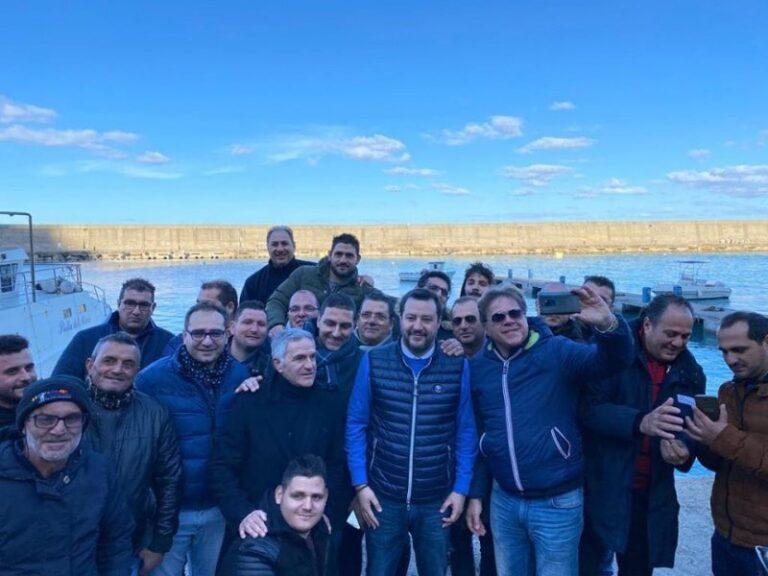 """Salvini a Reggio Calabria: """"C'è tanto da fare qui"""" (il video)"""