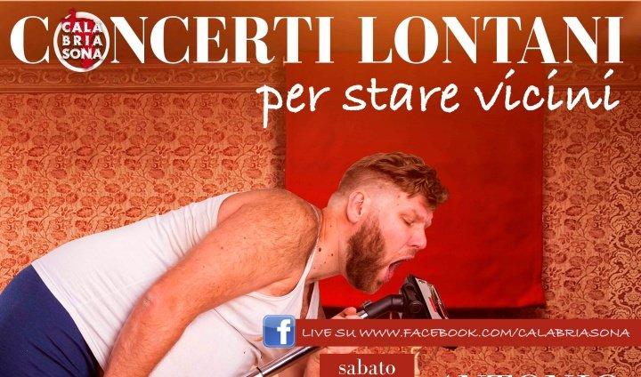 "Calabria Sona lancia: ""#iosuonodacasa, i live dei cantanti sui social"""