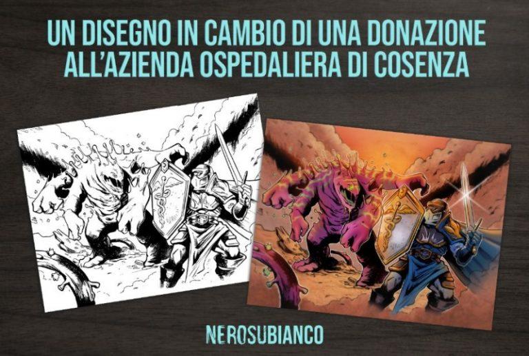 Emergenza Covid-19, raccolta fondi per l'ospedale di Cosenza