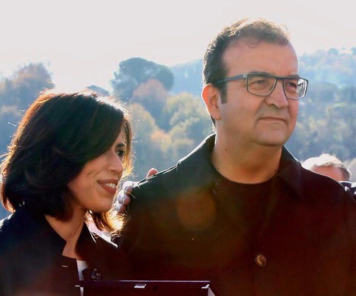 il Sindaco Mario Occhiuto e l'Assessore al welfare Alessandra De Rosa
