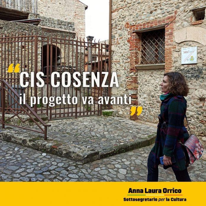 Il Sottosegretario Orrico interviene sul Cis Cosenza