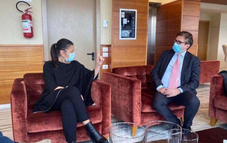 Coronavirus. Santelli incontra il vice ministro Sileri
