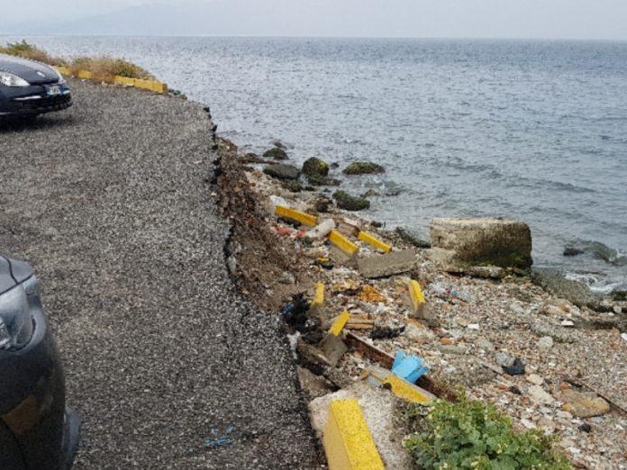 Reggio Calabria, ingenti danni nell'area del tempietto