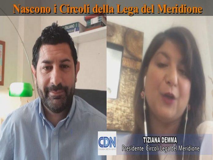 Tiziana Demma presidente circoli Lega del Meridione
