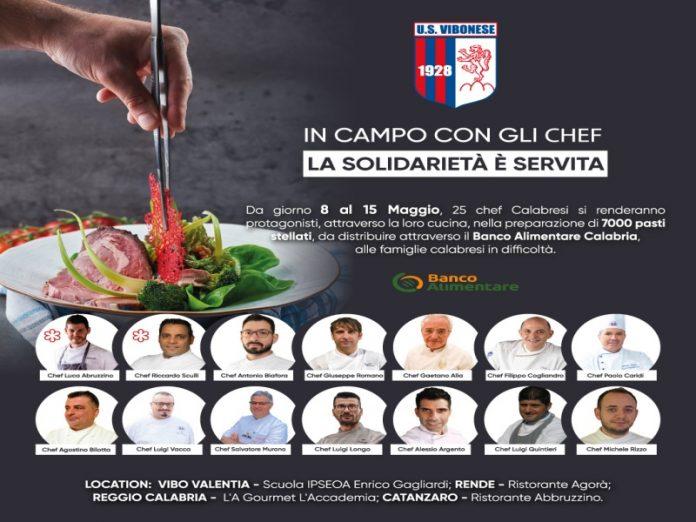 calabria chef stellati offrono pasti a chi è in difficoltà