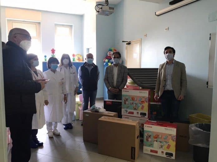 doni dalla famiglia Doria all'Ospedale Ciaccio di Catanzaro