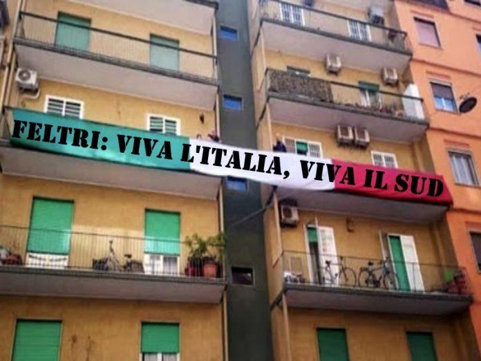 Sud unito in flash mob dai balconi contro razzismo feltri