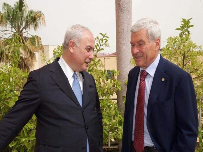 Algieri con Pancalli