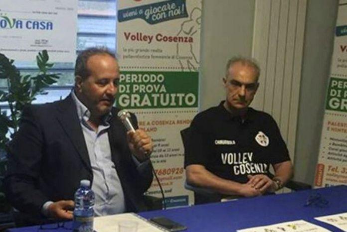 Volley Cosenza asd riconferma Tonino Chirumbolo allenatore