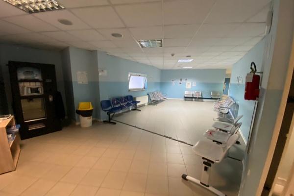 sala d'attesa poliambulatorio castrovillari
