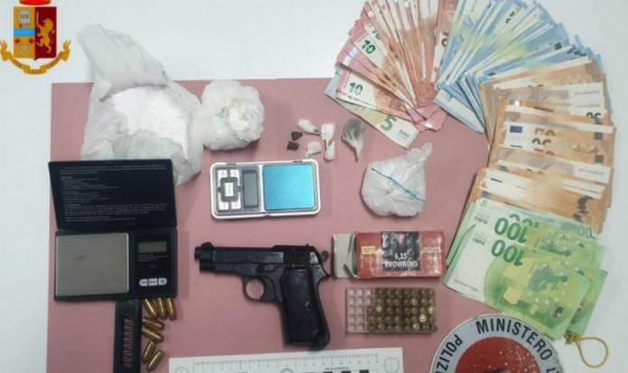 droga armi soldi arresto corigliano polizia