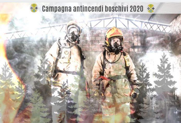 calabria verde campagna antincendi boschivi 2020