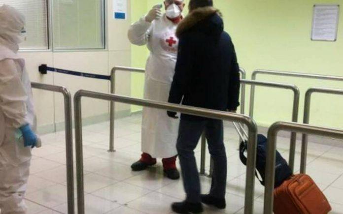 tamponi a campione aeroporto lamezia coronavirus