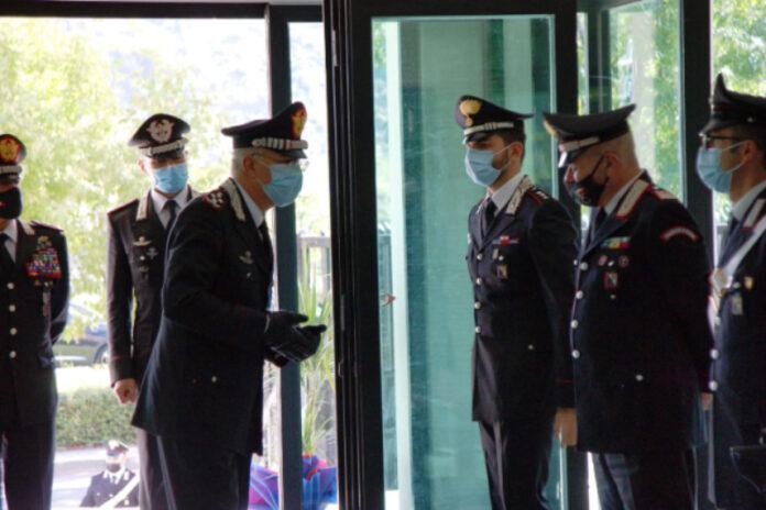 Il Comandante Generale dell'Arma dei Carabinieri visita il Comando Provinciale Carabinieri di Cosenza