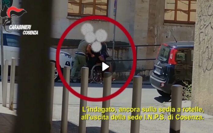 arresto falso invalido spacciatore