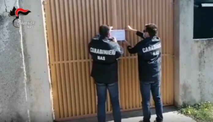 carabinieri del nas sequetrano comunità per anziani