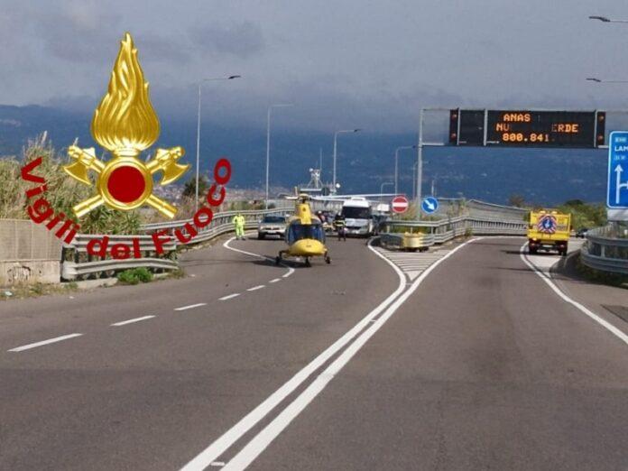 incidente stradale lamezia