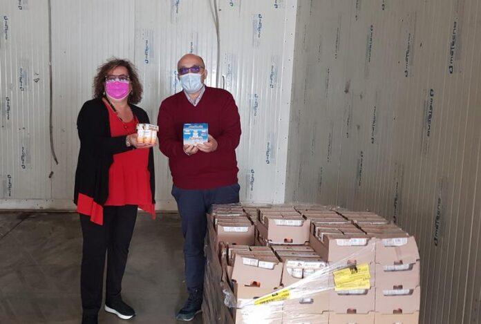 FederAnziani Calabria dona fermenti lattici al Banco alimentare