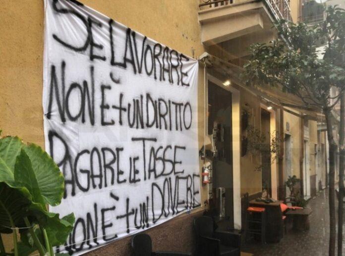 protesta ristoratori cosenza