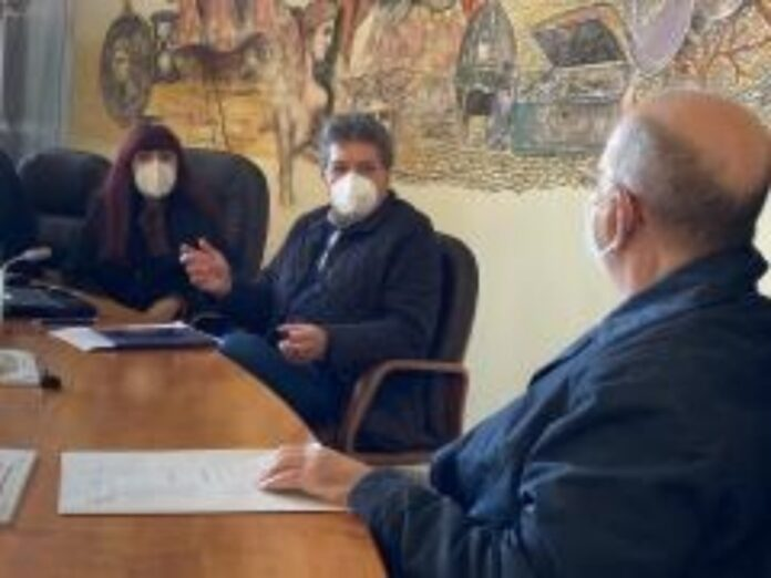 riunione sanità palazzo dei bruzi