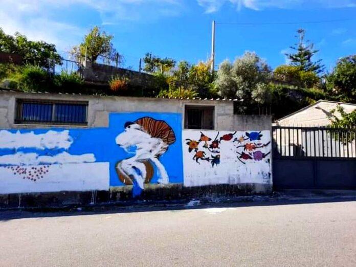 atti vandalici murales peppino impastato