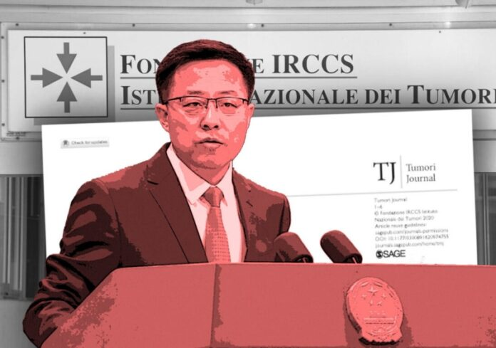 governo cinese accusa italia diffusione covid