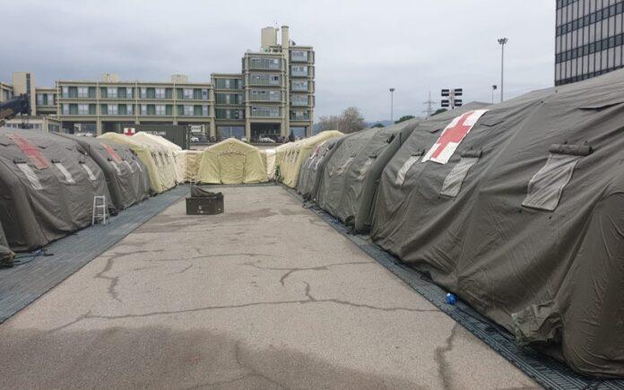 ospedale da campo militare cosenza