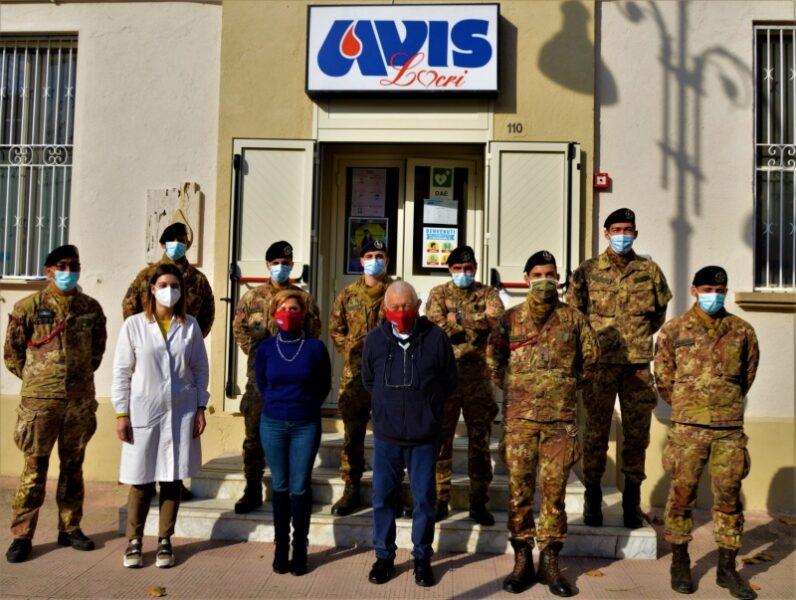Militari di Strade Sicure donano volontariamente