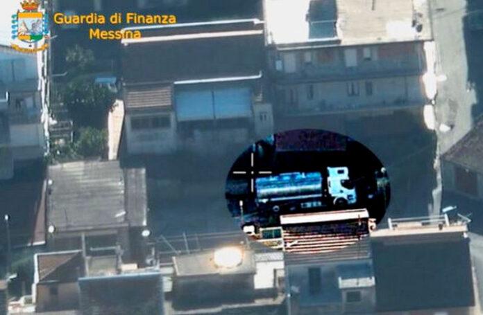 Contrabbando di gasolio calabria sicilia