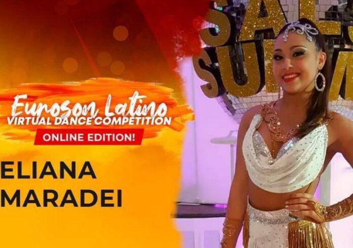 Eliana Maradei terza all'Euroson Latino