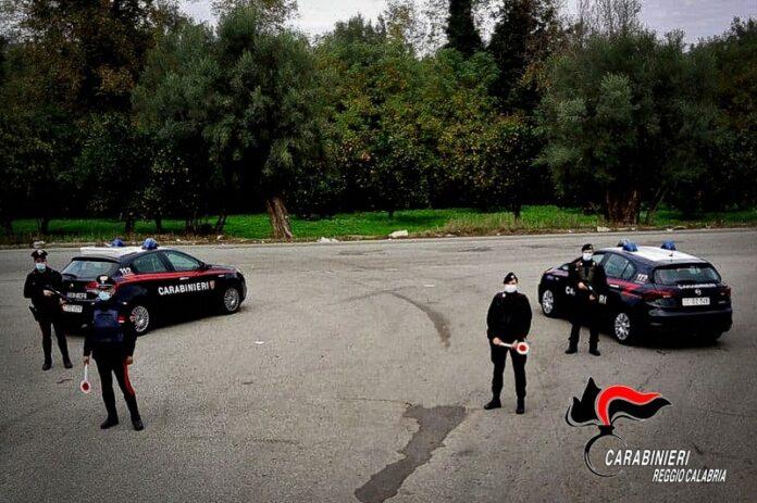 carabinieri reggio calabria posto di blocco