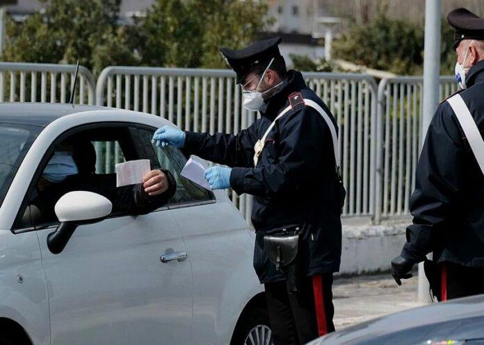 controlli carabinieri spostamenti