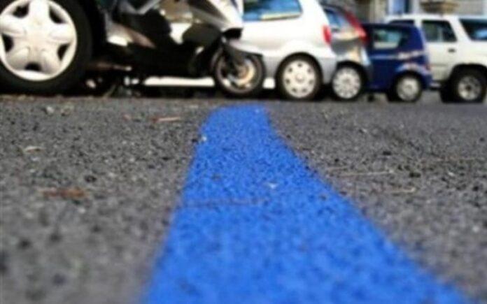 parcheggi strisce blu gratis Cosenza auto ibride o elettriche