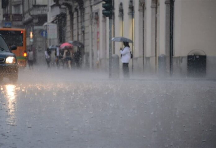 pioggia e vento Calabria