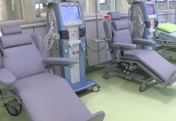 positivi covid reparto dialisi