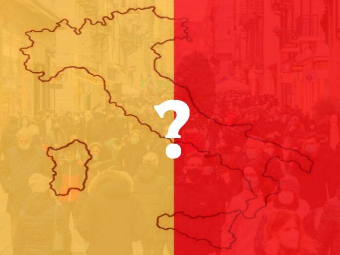 governo indeciso zona arancione o rossa