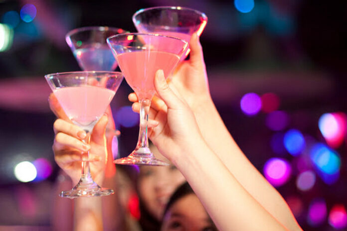 brindisi bicchieri festa