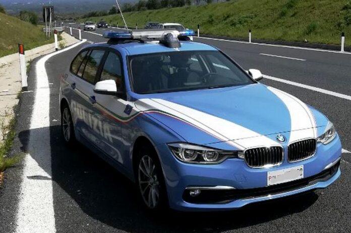 Polizia stradale autostrada